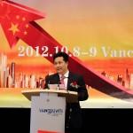 中国侨联副主席朱奕龙