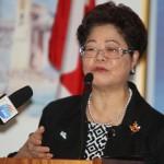 加拿大联邦长者事务部长黄陈小萍 Alice Wong